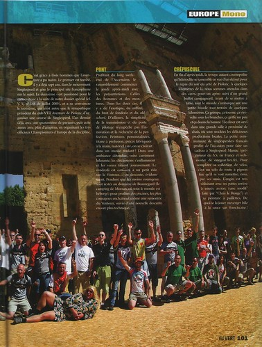 SSEC article in Velo VERT magazine. Page 2