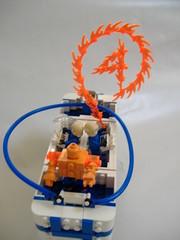 Fantasticar: Full 1 (graznador) Tags: toy comic lego superhero marvel fantasticfour fantastic4 moc foitsop justiceleaguemuseum graznador