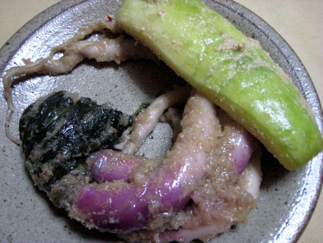 2007.6.16 錦・高倉屋 京都のお漬け物やさん10 日野菜と青瓜