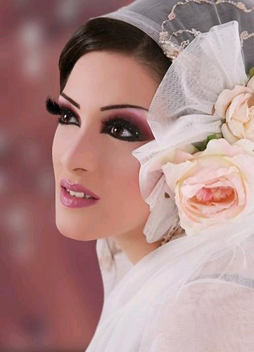 Arab style eye shadow pictures