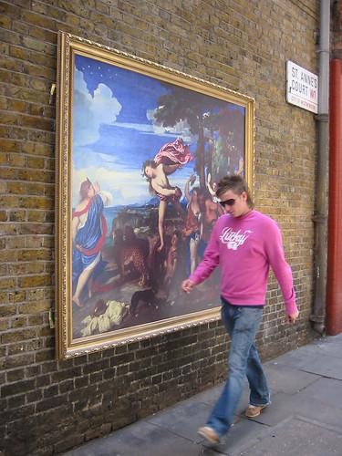 Modern meets Titian