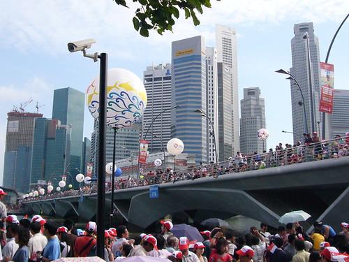 crazy at the esplanade