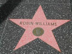 Robin Williams nel Walk of Fame