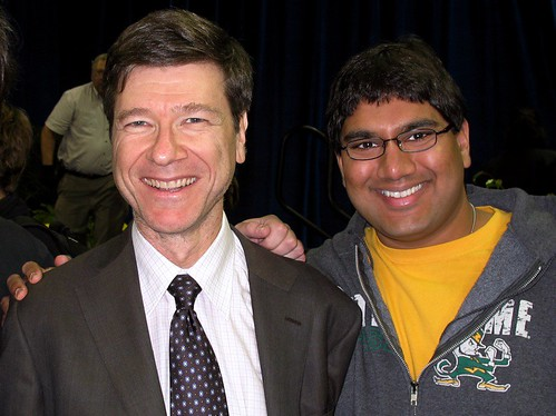 Jeffrey Sachs and Me at the <span class=