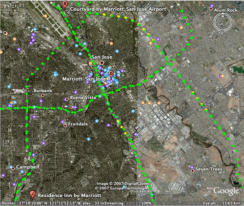 Google Earth Traffic Layer
