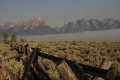 Low Cloud Cover at Sunrise 3 (jfew) Tags: nationalpark wyoming tetons grandtetonnationalpark