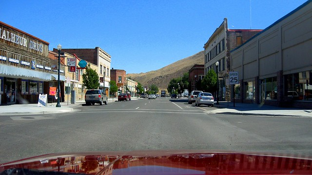 Downtown Vale Oregon