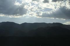 Mountain Sun (- luz -) Tags: mountain clouds sunbeams