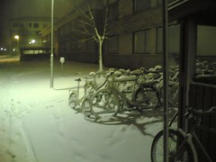 snow in Ryd - Linköping Sweden