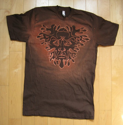 Green Man Shirt 3
