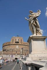 聖天使城與天使 Castel Sant'Angelo