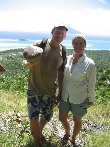 hiking Niuatoputapu
