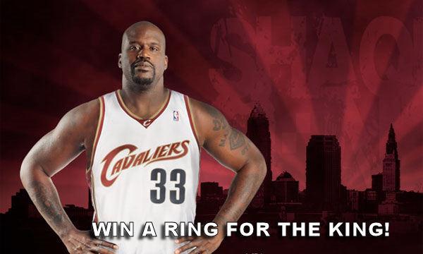 Shaq ring king