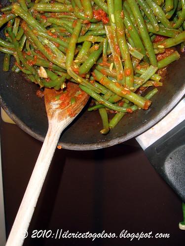 Fagiolini in umido al pomodoro 3