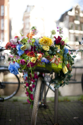 Amsterdam Magazine flower bike_2