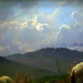 Rosa Bonheur, Sheep in the Highlands, detail with sky