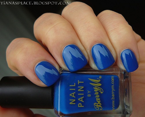 Barry M - Cobalt Blue #1