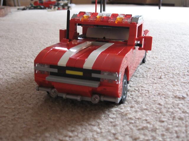 truck fire lights lego system chevy 13 silverado chevorlet revamped foglights sangi sangi13