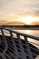 England - Cheshire - Widnes - Silver Jubilee Bridge - 28th October 2010 -31.jpg (Redstone Hill) Tags: england mersey widnes halton rivermersey silverjubileebridge runcornwidnesbridge