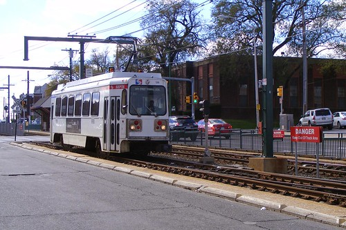 101 Trolley at Terminal Square, Upper Darby