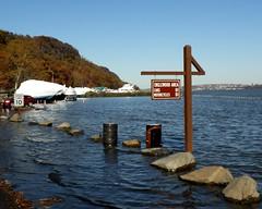 Flooding at Englewood Boat Basin, Palisades Interstate Park, Hudson River, New Jersey (jag9889) Tags: park boat newjersey flooding parking nj lot basin pip hudsonriver interstate hightide englewood palisades 2010 palisadesinterstatepark bergencounty y2010 jag9889