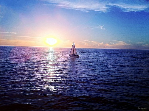 Sailing in Blue