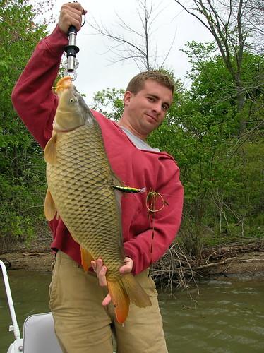 Nate with random carp