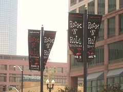 San Diego Rock-and-Roll Marathon banners