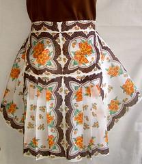 Vintage Kerchief Apron (Joyful Abode) Tags: vintage handmade apron waist etsy aprons