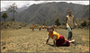 The Goal-Keeper monk (Sukanto Debnath) Tags: india boys kids children football hill monks sikkim debnath sukanto