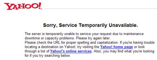 Yahoo! Del.icio.us API not working screen shot