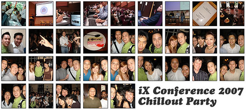 iX Conference 2007: Chillout 2.0