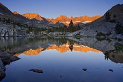 Kaweah Basin (copeg) Tags: california park lake reflection sunrise high searchthebest nevada basin sierra national backpacking peaks sequoia alpenglow seki kaweah naturesfinest specland anawesomeshot diamondclassphotographer sierravisions