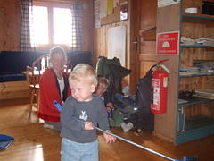 En dansk familie oppe på Sulebu