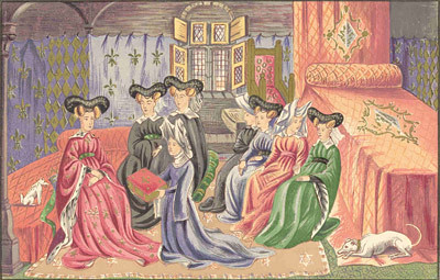 """the image and role of women in medieval society Women throughout medieval societies played active roles such as, domesticated home-makers, skilled laborers, and religious holy women """"modern historians are beginning to discover that medieval women made a significant contribution to the economy of the medieval world."""