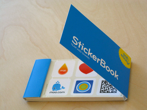 Moo StickerBook