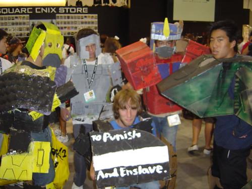 Transformers @ Comic-Con 2007