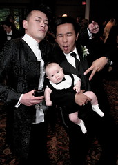 Keep the gaysians away from your baby... (.brian) Tags: show baby scary formal tuxedo danny jerrold karenswedding gaysians