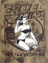 secrets of adults (brown) (l.e.t.) Tags: urban streetart pasteup art germany paper print poster graffiti design stencil sticker contemporary kunst wheatpaste pop popart basquiat silkscreen warhol düsseldorf let kippenberger