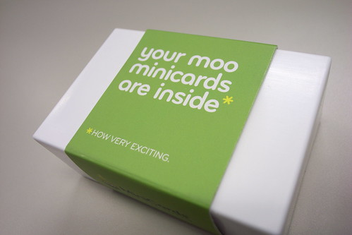 アバウトミーのmooカード