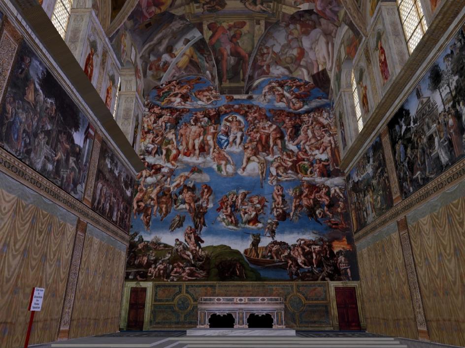 Sistine Chapel Re-Creation, Vassar
