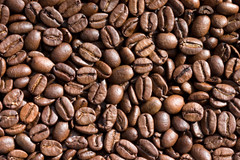 Coffee Beans Background (PICDISK | Stock Photo Backgrounds) Tags: food brown texture coffee horizontal closeup dark landscape cafe beans flat drink background surface bean roast seeds textures backgrounds diet groceries foodstuffs surfaces cofee roasted arabica foodstuff comestibles provisions flavoring flavouring picdisk