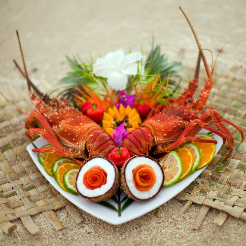 Lobster by Nanuya Island Resort