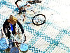 drummer + bike