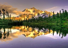 Mt. Shucksan in the North Cascades (papalars) Tags: trees sky lake reflection fall clouds washington best winner lovely digitalrebelxt breathtaking northcascades blueribbonwinner 1500v60f mywinner abigfave flickrenvy wowiekazowie papalars a3b superlativasdeniednoninvite andrewelarsen