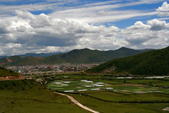 "Shangri-La, as the imaginary land popularized in James Hilton's ""Lost Horizon"" (Lisa-LA) Tags: china canon shangrila land yunnan zhongdian diqing losthorizon lisaliu jameshilton"