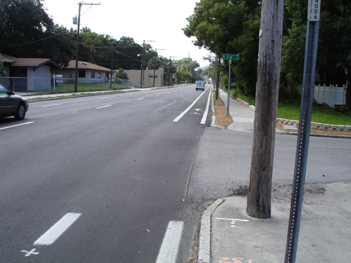 Tampa's newest bike lane