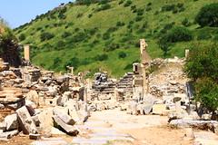 Ephesus, Turkey (Tom Floyd) Tags: ancient roman stpaul stjohn amphitheater romans selcuk gladiators ancientruins romanruins midleeast ancientchurch selcukturkey biblelands ancientturkey photosofturkey picturesofturkey photosofephesusturkey picturesofephesusturkey