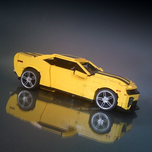 how to make a lego transformer bumblebee