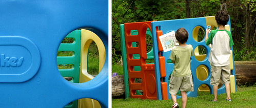 Backyard Bingo - play house